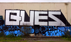 Ques (funkandjazz) Tags: sanfrancisco california graffiti qs pcf neves ques ptb btm