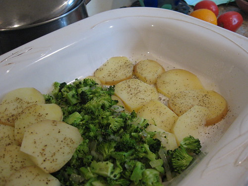 Potato & Broccoli Casserole
