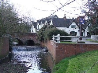 The Brook at Rolleston on Dove