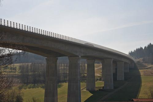 Autbahnbrücke bei Trockau