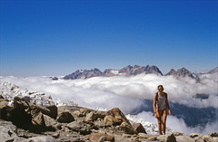 above the clouds (Ron Layters) Tags: france mountains alps nature geotagged slide valley transparency kodachrome chamonix rescanned kodachrome64 argentiere hautesavoie pentaxmz10 geo:lat=459943 aiguillesrouges flickrfly ronlayters ronet slidefilmthenscanned glacierdutour refugealbertpremier massifdumontblanc geo:lon=698834 valleyfullofclouds