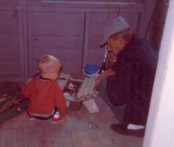 Canada '68 Dad & Wayne