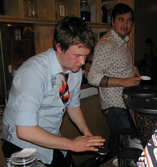 Damn good looking (dogmilque) Tags: ritual coffee roaster opening party stumptown bluebottle ecco caffè espresso drunk