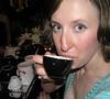 Eyeball beauty (dogmilque) Tags: ritual coffee roaster opening party stumptown bluebottle ecco caffè espresso drunk