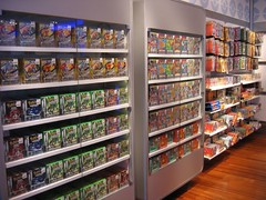 Pokemon Merch! (AzyxA) Tags: nintendoworld pokemoncenter newyorkcity nyc pokemonruby pokemonsapphire pokemonemerald pokemonfire pokemonleaf merch games cards
