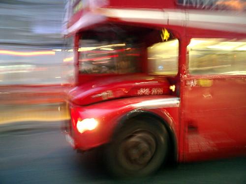 Foto de un autobús londinense
