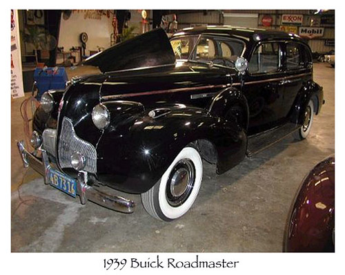 1939 Buick Roadmaster. 1939 Buick Roadmaster copy