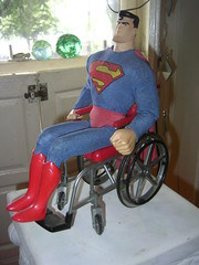 Superman in a Wheelchair - by A.Currell