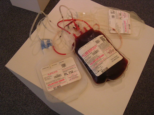 Blood Bag, In
