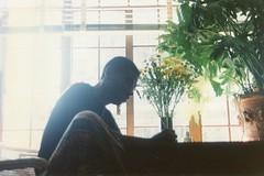 ElvertBarnes.339.NYC.8jul92 (Elvert Barnes) Tags: newyorkcity selfportrait chelsea 1992 writings elvertbarnes july1992 chelseanyc 8july1992