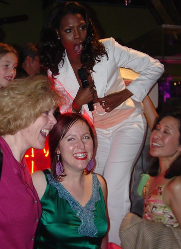 Omarosa From The Apprentice 1 Gets Down At The 2005 After Party
