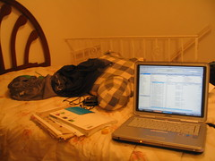 laptop on my bed (zizou) Tags: bed laptop ny