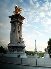 La Tour Eiffel du Pont Alexandre III