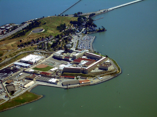 San Quentin Prison, California by Telstar Logistics.