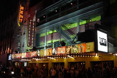 Rent-演出戲院外觀