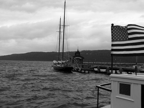 Patriotic Docks (Black and White)