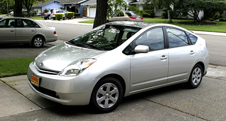 2005 PRIUS: Our New Car
