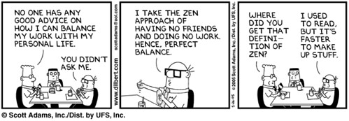 Dilbert and zen