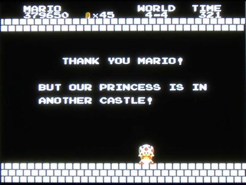 Super Mario broke