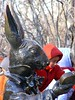 rabbit (Rochelle Ratner) Tags: gatesmemory gates centralpark orange newyork