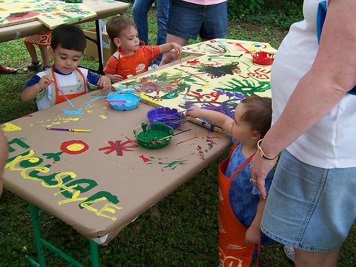 Kids painting por BarelyFitz