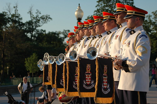 The Army Herald Trumpets