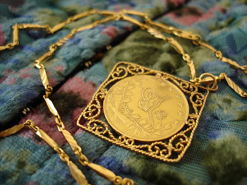 The Gold Pendant