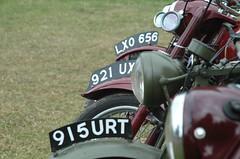 Classic Bikes (Mr PloppyPants) Tags: strumpshaw steam museum rally traction engine nikon d70 bsa motocycle sigma24135