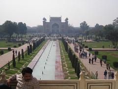 Jardines interiores Taj Mahal