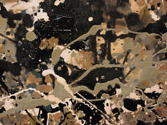Pollock Detail (voodoo urbanist) Tags: moma pollock