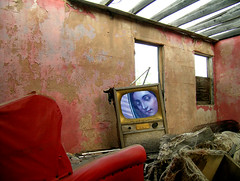GuadTV (Mary Hockenbery (reddirtrose)) Tags: pink red abandoned topf25 television topv2222 tv topv555 topv333 topf75 shrine published topv1111 topc50 prayer topv999 topv5555 vision forsakenthings topv777 reddirtrose guadalupe spiritual 1000v100f topf125 topf150 topv3333 topv4444 forsakenplaces topf100 topf200 2005tyitl reddirtroseutatafeature passionatelypinkforthecure pinkforthecure