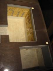 day 2: Tutankhamun's tomb (andrewbateman) Tags: lyswedding englandtripmay05 england uk egyptianexhibition highclerecastle egypt tutankhamun