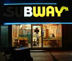 Eres un Buey (oso) Tags: monterrey mexico buey guey etymology subway
