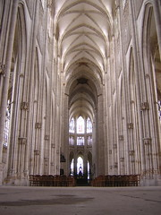 Nave of St. Ouen - 2 (Josh Clark) Tags: cruise2005 rouen saintouen architecture church favorite
