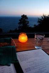 The View from Nepenthe #2 (ldandersen) Tags: bigsur california ocean sunset twilight nepenthe restaurant food menu geotagged geolon12161925315856934 geolat36094400997481856