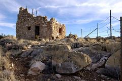 Abandoned @ Two Guns Arizona (Nativeagle) Tags: arizona abandoned landscape nikon ruins native navajo twoguns twinarrowstwoguns
