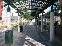 Yerba Buena Gardens perspective shot