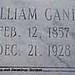 William Clifton Gainey Feb. 12, 1857 Dec. 21, 1928