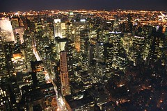 Manhattan skyline at night (Toni Blay) Tags: nyc newyork trips manhattan bigapple