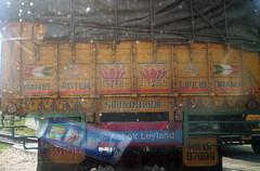 philosophy like that... (simplylezz) Tags: truck philosophy ashok leyland mahabalipuram