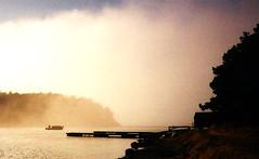 Into the morning mist (Geir Halvorsen) Tags: boat fog scanned predigital exellentpredigital