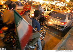 Iran qualifies to 2006 World Cup (iRAN Project) Tags: white urban football soccer world cup worldcup happy celebrate celebration celebrations nightlife winner fire noise travel tourist tourism texture tehran style street spark photo persians persian persia people night modern lights lightnings lightning lighting lifestyle iranians iranian iran flower flowers fashion downtown colours colour color civic city cars attraction arians arian aria