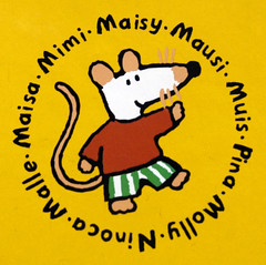 A United Nations of Maisy (Steve Bowbrick) Tags: kids illustration writing children mouse book marketing media cousins character business translation language globalisation maisy licensing lucycousins