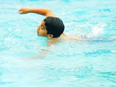 Doodi.. (Blackpearlz) Tags: bro summer pool movement swimming