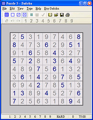 Puzzle Sudoku Hard Screenshot