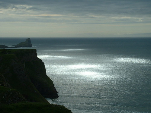 Pools of Sunlight By Worms Head