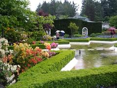 Star Pond,Butchart Gardens, Victoria, B.C.