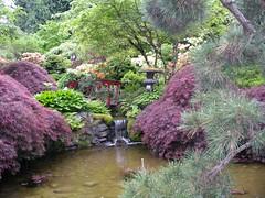 Japanese Garden, Butchart Gardens.Victoria, B.C.