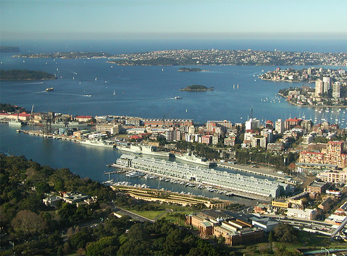 Sydney Harbour and the Pacific