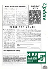 Hibernian vs Clydebank - 1989 - Page 5 (The Sky Strikers) Tags: hibernian hibs clydebank skol cup road to hampden easter matchday magazine one pound
